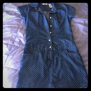 Adorable Polka Dot mini dress child XL